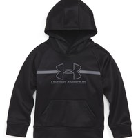 Under Armour Logo Hoodie (Toddler Boys & Little Boys) | Nordstrom