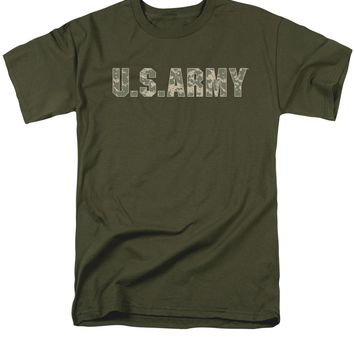 Army - Camo Short Sleeve Adult 18/1