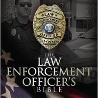 HCSB Law Enforcement Officer's Bible, Black LeatherTouch Imitation Leather – May 1, 2012