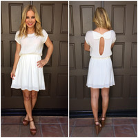 Best Friend Bow Dress - Ivory