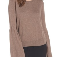 Leith Bell Sleeve Sweater | Nordstrom