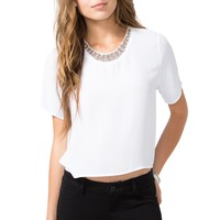 Beaded Boxy Top