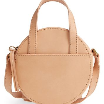 Madewell Juno Circle Leather Crossbody Bag | Nordstrom