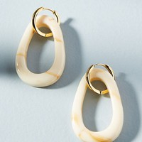 Alaska Resin Hoop Earrings