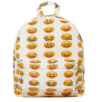 Emoji Backpack Book Bag