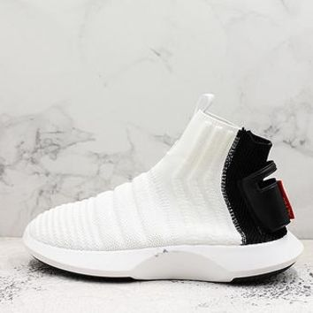 Adidas Crazy 1 Adv Sock Primeknit Black Heel - Best Deal Online