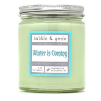 WINTER IS COMING SCENTED SOY CANDLE
