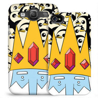 Adventure Time Ice King and Gunter Phone Case for iPhone and Galaxy |
