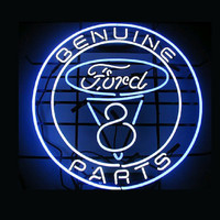 Genuine Ford Parts Real Neon Sign Real Neon Light