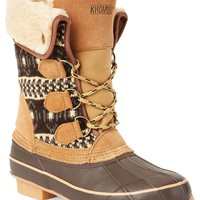 Khombu Boots, Maya Cold Weather Faux-Fur Booties - Winter & Rain Boots - Shoes - Macy's