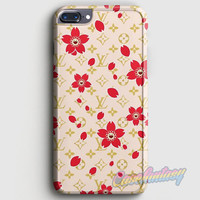 Louis Vuitton Flower Pattern iPhone 7 Plus Case | casefantasy