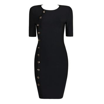Keke Black Dress