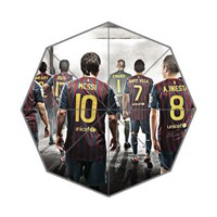 FC Barcelona Soccer Team Foldable Umbrella
