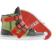 Radii Straight Jacket (black / army / red) Shoes FM1014-BAR | PickYourShoes.com