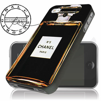 Chanel No 5 Perfume iPhone 4/5/5c/6 Plus Case, Samsung Galaxy S3 S4 S5 Note 3 4 Case, iPod 4 5 Case, HtC One M7 M8 and Nexus Case - Chanel Phone Case