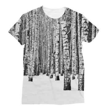 Winter Forest  Subli Sublimation T-Shirt
