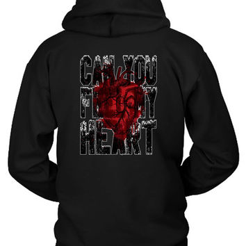 Bring Me To The Horizon Feel My Heart Bmth Hoodie Two Sided