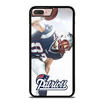 ROB GRONKOWSKI NEW ENGLAND PATRIOTS iPod Touch 6 iPhone 8 Plus Case