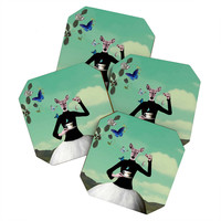 Natt Butterfly Tea Coaster Set