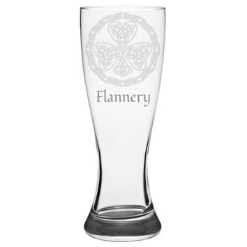 Celtic Knot Personalized Pilsner Glass, Etched Beer Glass, Beer Lover Gift, Custom Beer Glass, Gift From Wife, Beer Mug, Beer Stein