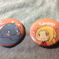 Full Metal Alchemist Buttons