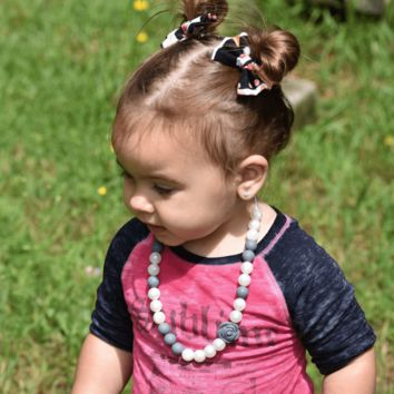 Kayleigh Mini Teething  Necklace