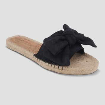 Women's Disney Mickey Mouse Espadrilles - Black