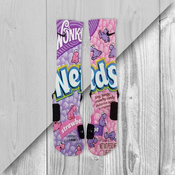 NERDS CUSTOM NIKE ELITE SOCKS