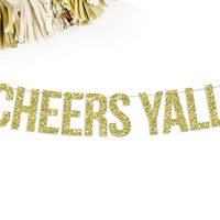 Cheers Yall Party Banner