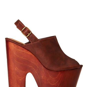 Shoe Cult Anticipate Platform - Brown