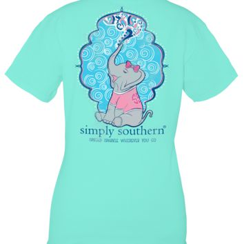 Simply Southern Sparkle Elephant T-Shirt