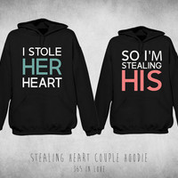 Stealing Heart Couple Hoodie