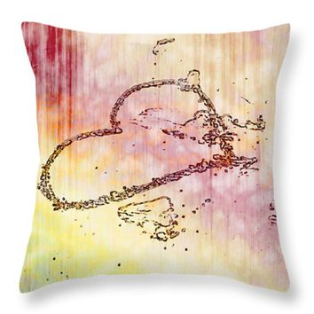 "The Dream Heart Throw Pillow 14"" x 14"""