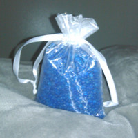 Aroma Bead Sachet, Air Fresheners, OOT Gift Bags, Party Favors, Large Organza bags, Made to Order