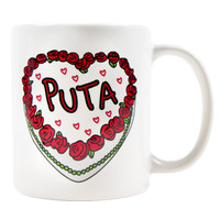 PUTA CAKE COFFEE MUG