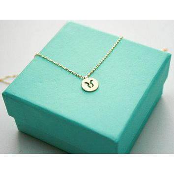 Dainty Taurus Necklace