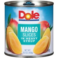 Dole Mango Slices in Heavy Syrup, 15.5 oz - Walmart.com