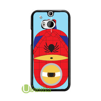 Despicable Me Minion Spider ma  Phone Cases for iPhone 4/4s, 5/5s, 5c, 6, 6 plus, Samsung Galaxy S3, S4, S5, S6, iPod 4, 5, HTC One M7, HTC One M8, HTC One X