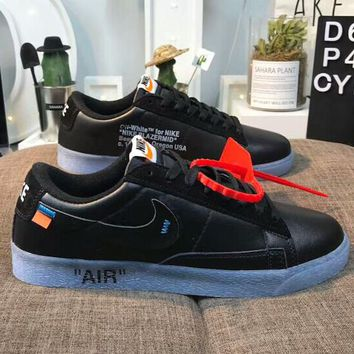 NIKE & Off white New fashion sports running couple shoes