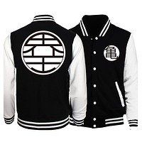 Dragon Ball Z Goku Baseball Uniform Jackets