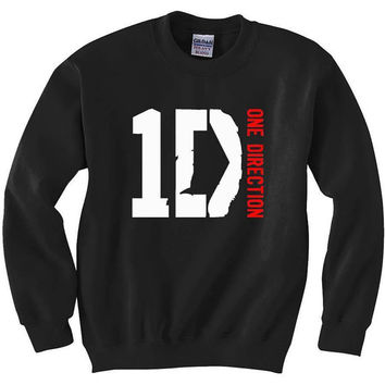 One Direction Sweater Crew-Neck in Black