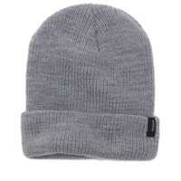 Brixton Heist Beanie - Mens Hats - Gray - One