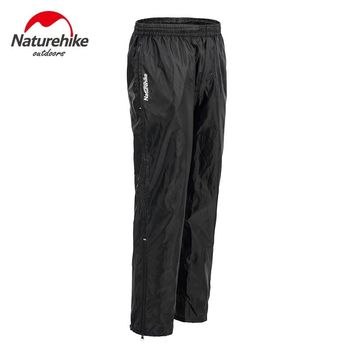 Naturehike High Quality Men Women Outdoor Waterproof Windbreak Motorcycle Bicycle Raincoats Ride Rain Pants Cycling hiking trip