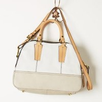 Autostrada Satchel by Oryany White One Size Bags