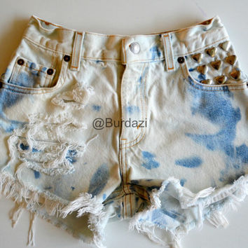 "One of a Kind ""Heart Breaker"" 24/25 High Waisted Shorts"