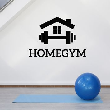 Vinyl Wall Decal Home Gym Fitness Motivation Sports Room Art Decor Stickers Mural Unique Gift (ig5118)