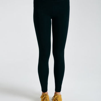 High-Waisted Solid Ankle Leggings | Wet Seal