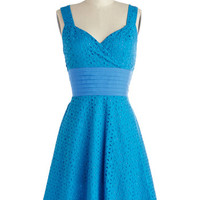 ModCloth Mid-length Sleeveless A-line Color is Key Dress