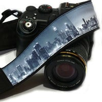 NewYork Camera Strap. DSLR Camera Strap. Canon Nikon Camera Strap. Camera Accessories