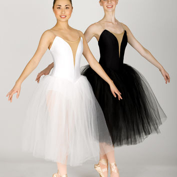 Free Shipping - Adult Classical Tutu Dress With Nude Insert by NATALIE